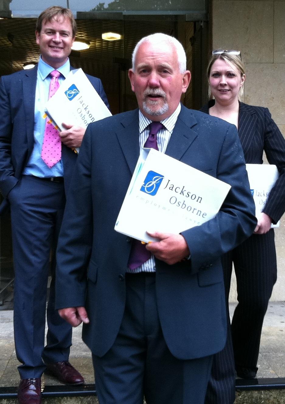 Jackson Osborne Wins Record Discrimination Award
